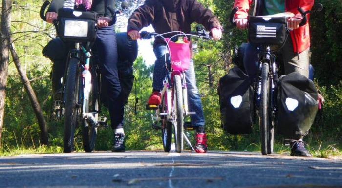Vélodyssée avec enfant