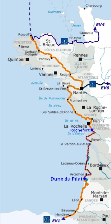itinéraire vélodyssée