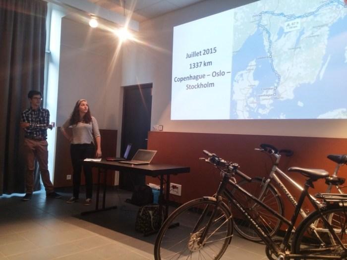 Conférence voyage vélo Scandinavie