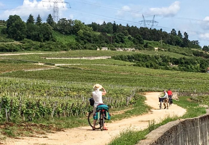 Voyager à vélo en groupe