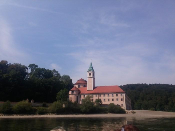 le Kloster Weltenburg eurovelo 6 allemagne