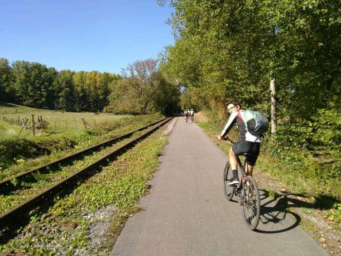 ravel ancienne voie ferree belgique