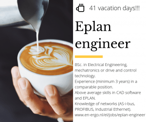 Eplan engineer EnErgo* recruitment