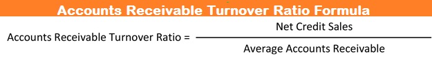 Accounts Receivable Turnover Ratio Formula