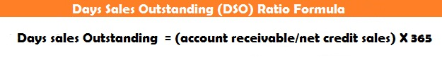 Days Sales Outstanding (DSO) Ratio Formula