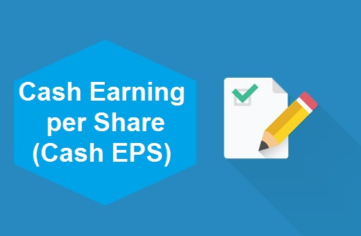 Definition of Cash Earning per Share (Cash EPS)