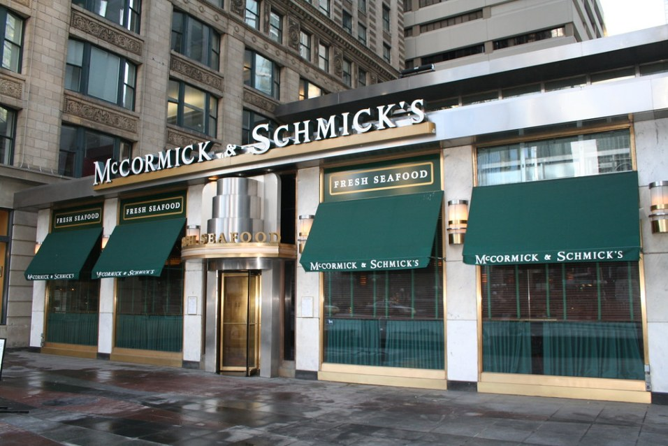 Mccormick and Schmick's Veterans day Fresh Seafood 2021
