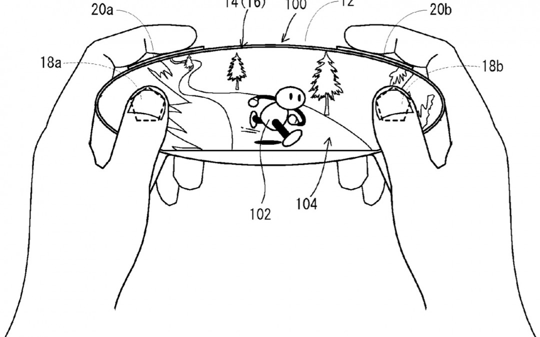 Nintendo Files Patent for Touchscreen Video Game