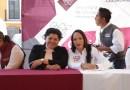 Karina Pérez Popoca y Lizeth Sánchez arrancan el Martes Ciudadano de la Secretaría de Bienestar