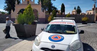 Inhiben autoridades instalación de baile comunitario en Tonantzintla