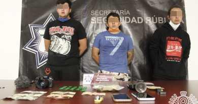 Agarran a Youtuber narcomenudista en Puebla