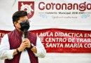 Inicia edil de Coronango obras educativas