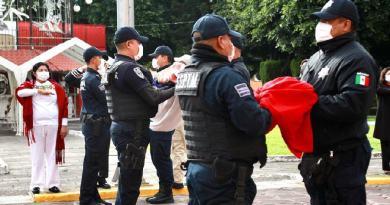 Encabeza Karina Pérez ceremonia por el CCX Aniversario de la Independencia