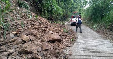 Evacuan a 9 familias en Cohetzala por intensas lluvias