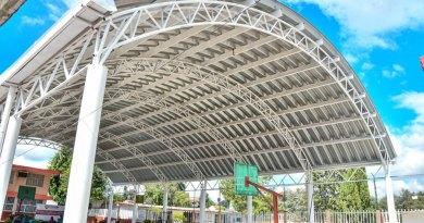 Inaugura Antonio Teutli techados en 2 escuelas del municipio