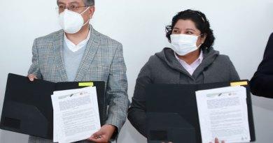 Firma San Andrés Cholula convenios con la Secretaría del Trabajo