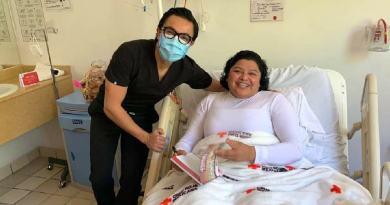 Karina Pérez reconoce labor de la Cruz Roja Mexicana tras cirugía en el tobillo