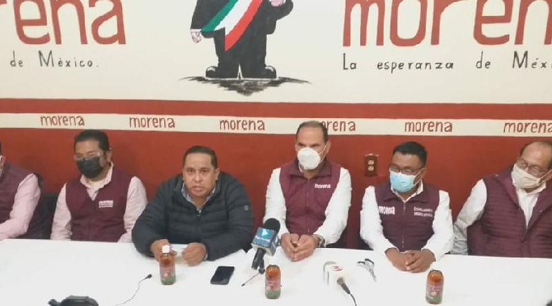 Alianzas de Morena, sólo con ideologías afines a la 4T, dice líder en Puebla
