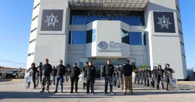 Imparte SSPTM de San Andrés curso sobre Intervención, Control y Manejo Policial en Disturbios