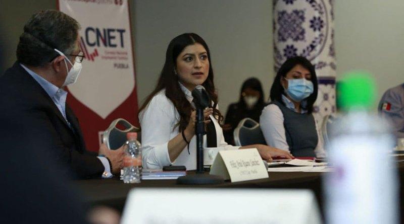 Puebla capital estrecha relaciones con Cámaras del sector turístico