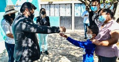 Benefician a familias de Coronango con programa Dignificando Hogares