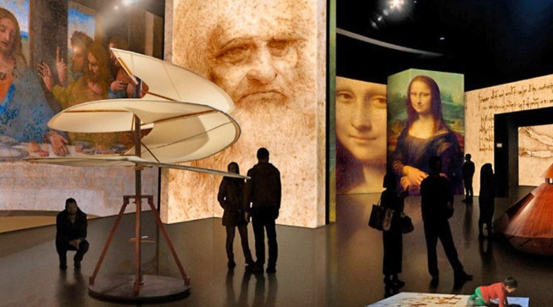 Exposición «Leonardo Da Vinci, 500 años de genialidad» llega a Puebla