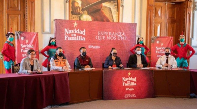 Alista Puebla Capital desfiles y actividades navideñas este 2020