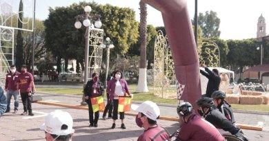 Llama Karina Pérez a respetar con acciones a personas con discapadidad