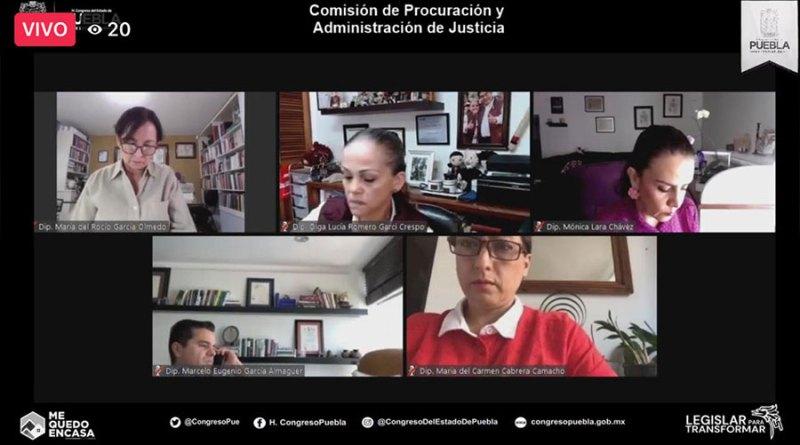 Avanza en comisiones nueva Ley del Notariado de Puebla