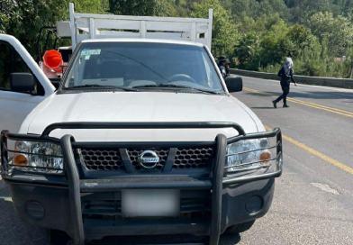 En Huauchinango, Policía Estatal asegura más de mil 700 dosis de aparente droga