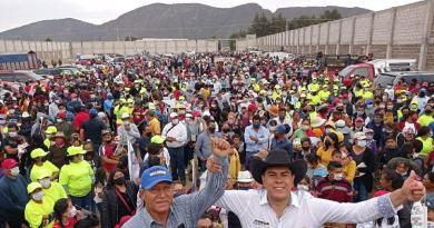Arranca campaña Jonathan Collantes con el apoyo de 3 mil personas en Tlachichuca