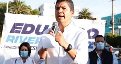 No recibo apoyo del gobierno del estado, afirma Eduardo Rivera