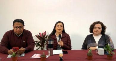 Claudia Rivera hace llamado a cerrar filas y dejar ataques mediáticos