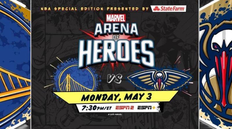 Marvel y NBA crean «Arena of Heroes»