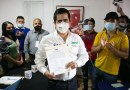 Recibe Lorenzo Rivera Nava constancia de mayoría en Chignahuapan