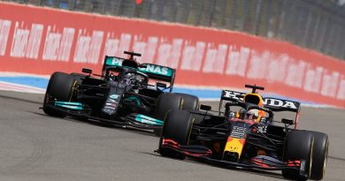 Verstappen saldrá en último en el Gran Premio de Rusia