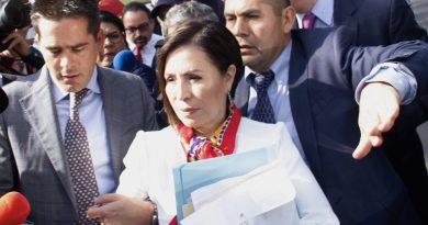 Niegan suspenderle prisión preventiva a Rosario Robles