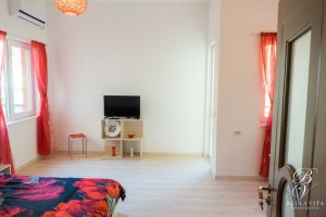Apartment in Blagoevgrad Bulgaria with Big HD TV, Air Conditioner for Rent Living Room