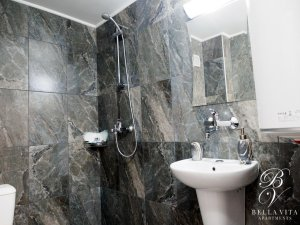 Luxury Bathroom with Shower Stylish Managed in Downtown Blagoevgrad Bulgaria