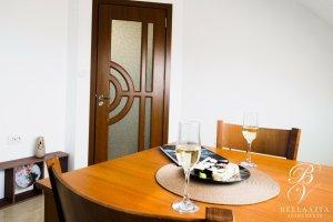 Luxury Short Term Rental Blagoevgrad Bulgaria Dining Table Dinner