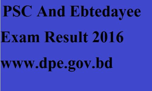 psc result 2016