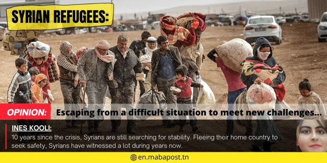 Syrian Refugees: escaping from a difficult situation to meet new challenges