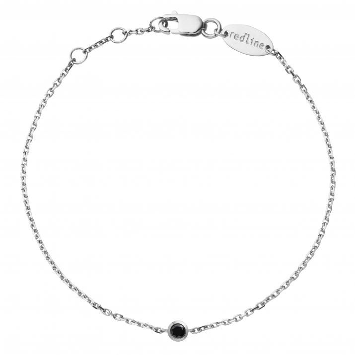 Redline Jewelry Kcolor Chain Bracelet White Gold Diamond