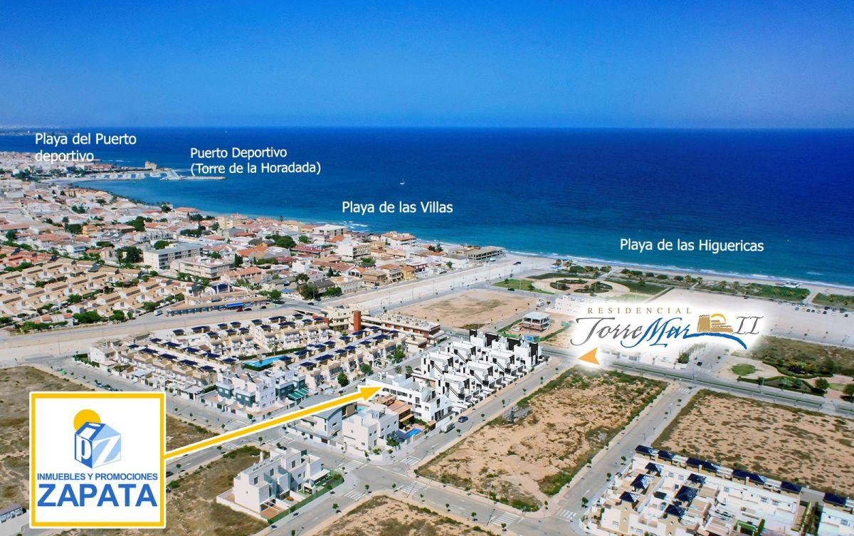 Homes Complex Torremar II in las Higuericas Beach in Torre de la Horadada  Zapata Projects SL
