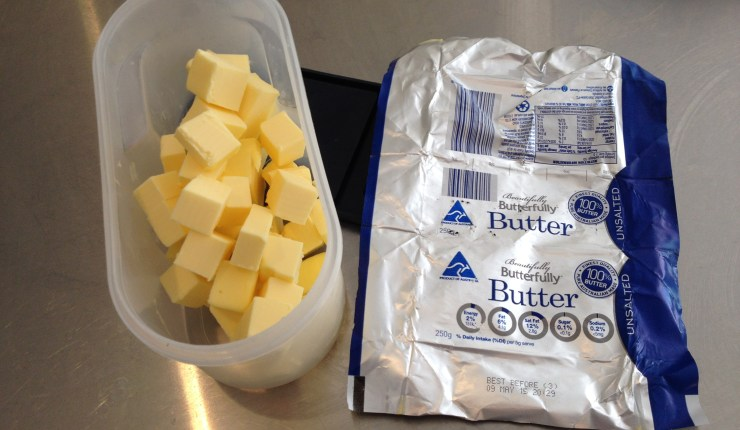 Butter Cubed