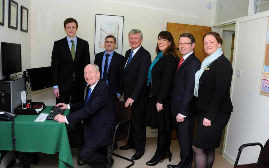 Minister Michael Ring Launches P. O'Connor & Son Website