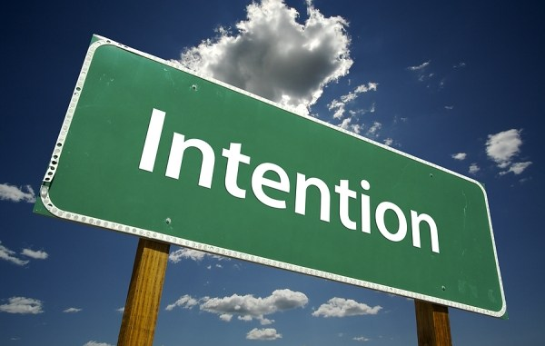 Intention Sign