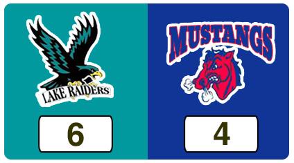 TPWHL Lake Raiders vs Mustangs