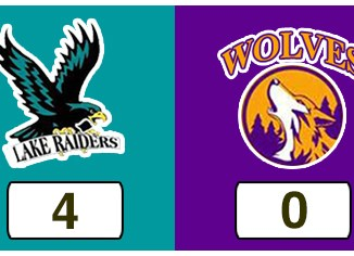 TPWHL Lake Raiders vs Wolves