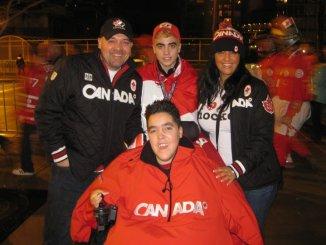 Matt and his family